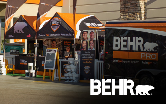 BehrPro Experience - Mobile Marketing Tour