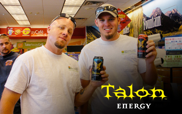 Talon Energy - Product Sampling